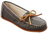Minnetonka Women's Canvas Moccasin