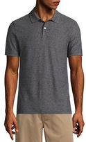 ST. JOHN'S BAY St. John's Bay Short Sleeve Solid Performance Pique Polo Shirt