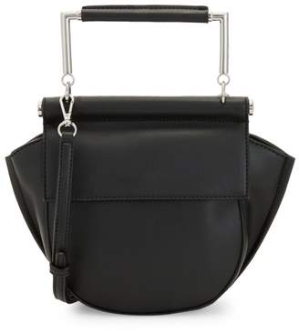 Sam Edelman Mia Half Moon Faux Leather Crossbody Bag