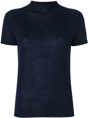 N.Peal superfine mock neck T-shirt