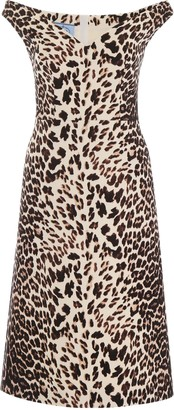 Prada Animalier Dress