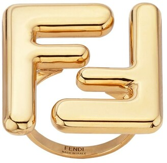 Fendi Maxi Logo Ring