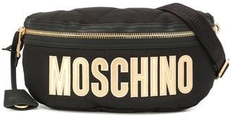Moschino Logo Print Belt Bag