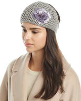Jennifer Behr Sequin Rose Kerchief