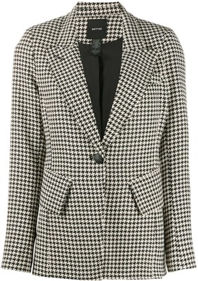 Smythe Houndstooth tailored blazer