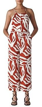 Whistles Graphic Zebra Printed Jumpsuit