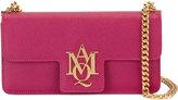 Alexander McQueen Insignia clutch satchel - women - Calf Leather - One Size