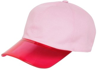 Borsalino TIN TIN COTTON & PVC BASEBALL HAT