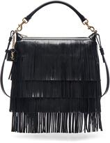 Saint Laurent Medium Fringe Emmanuelle Hobo Bag