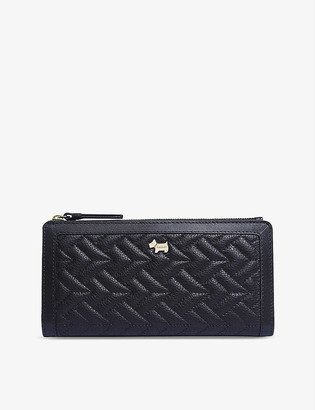 Radley + Co Wood Street large quilted leather bifold matinee purse
