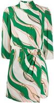Elisabetta Franchi chain print dress