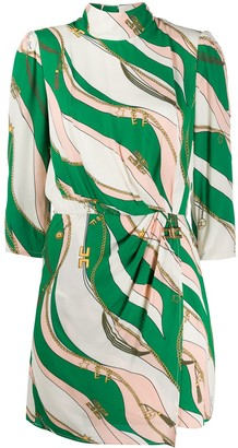 Elisabetta Franchi Chain Print Dress