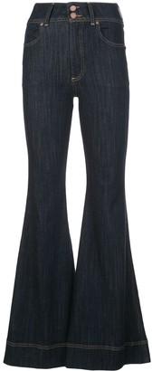 Alice + Olivia Bell Bottom Jeans