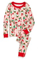 Hanna Andersson Fitted Two-Piece Pajamas (Toddler Girls, Little Girls & Big Girls)