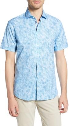 Brax Kelly Hi-Flex Modern Fit Short Sleeve Button-Up Shirt