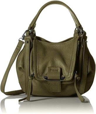 Kooba Womens Leather Convertable Crossbody Handbag Mini Jonnie