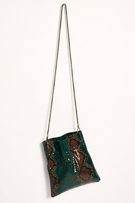 Free People Fp Collection Nicolette Snake Crossbody by FP Collection at