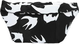 McQ Swallow Print Belt Bag