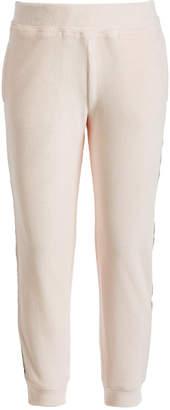 Ideology Little Girls Side-Taped Velour Sweatpants