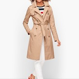 Talbots Double Breasted Trench Coat