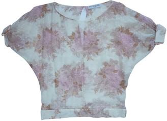 Paul & Joe Pink Silk Top for Women