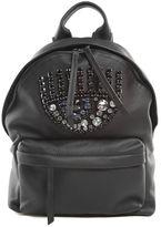Chiara Ferragni Flirting Eye Crystal-embellished Faux-leather Mini Backpack