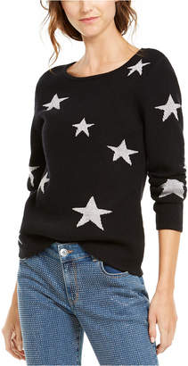 INC International Concepts Inc Star Pullover Sweater