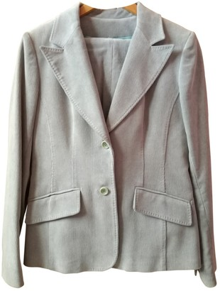Gerard Darel Blue Cotton Jacket for Women