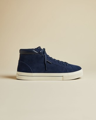 Ted Baker Suede High Top Trainer