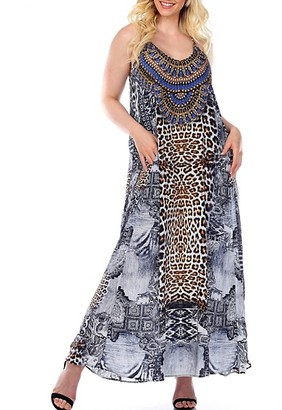 La Moda Clothing Maxi Coverup Dress