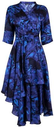 Gung Ho Water Wrap Dress