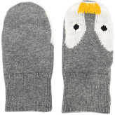 Stella McCartney penguin knitted mittons