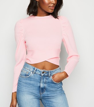 New Look Cameo Rose Puff Sleeve Jumper