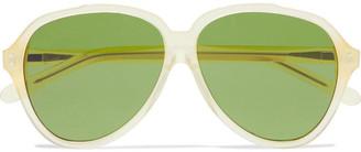 Acne Studios Charge Aviator-style Acetate Sunglasses