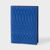 Paul Smith No.9 - Men's Blue Leather Credit Card Wallet
