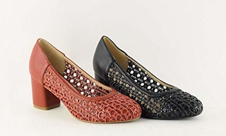 The Divine Factory Women's Lorence Closed Toe Heels