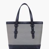 Talbots Stripe Tote Bag