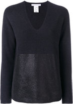 Fabiana Filippi sheer knitted top