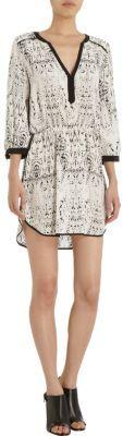 Parker Printed Medium Sleeve Dress