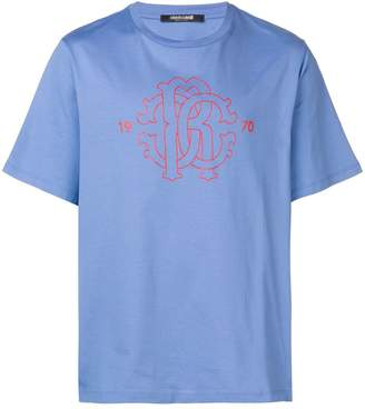 Roberto Cavalli printed logo T-shirt