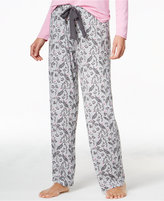 Alfani Printed Knit Pajama Pants, Only at Macy's