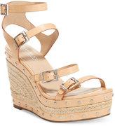 Charles by Charles David Larissa Strappy Platform Wedge Sandals Women's Shoes