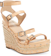Charles by Charles David Larissa Strappy Platform Wedge Sandals