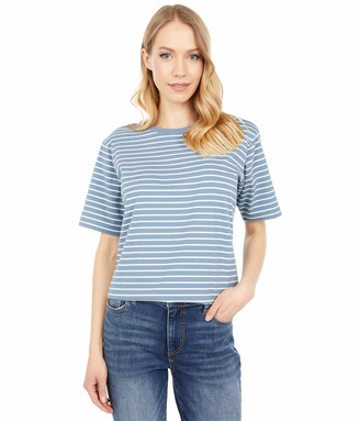 Pendleton Women's Short Sleeve Deschutes Stripe Cotton Tee