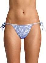 Gottex Skinny Tie Floral Bikini Bottom