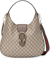 Gucci Dionysus medium GG Supreme hobo - women - Cotton/Leather/Canvas/metal - One Size