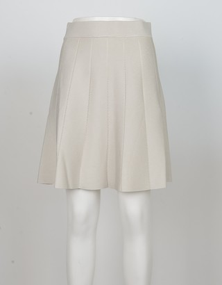 Pinko Women's Ice Gray Skirt