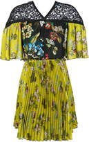 I'M Isola Marras floral pleated dress