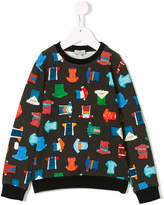 Paul Smith T-shirt print sweatshirt