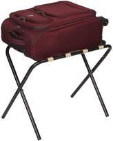 Household Essentials Black Luggage Rack